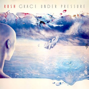 Rush Grace Under Pressure album cover
