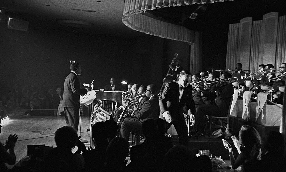 Frank Sinatra Big Band Jazz Standing Room Only Press Shot 1 PC Frank Sinatra Enterprises 1000