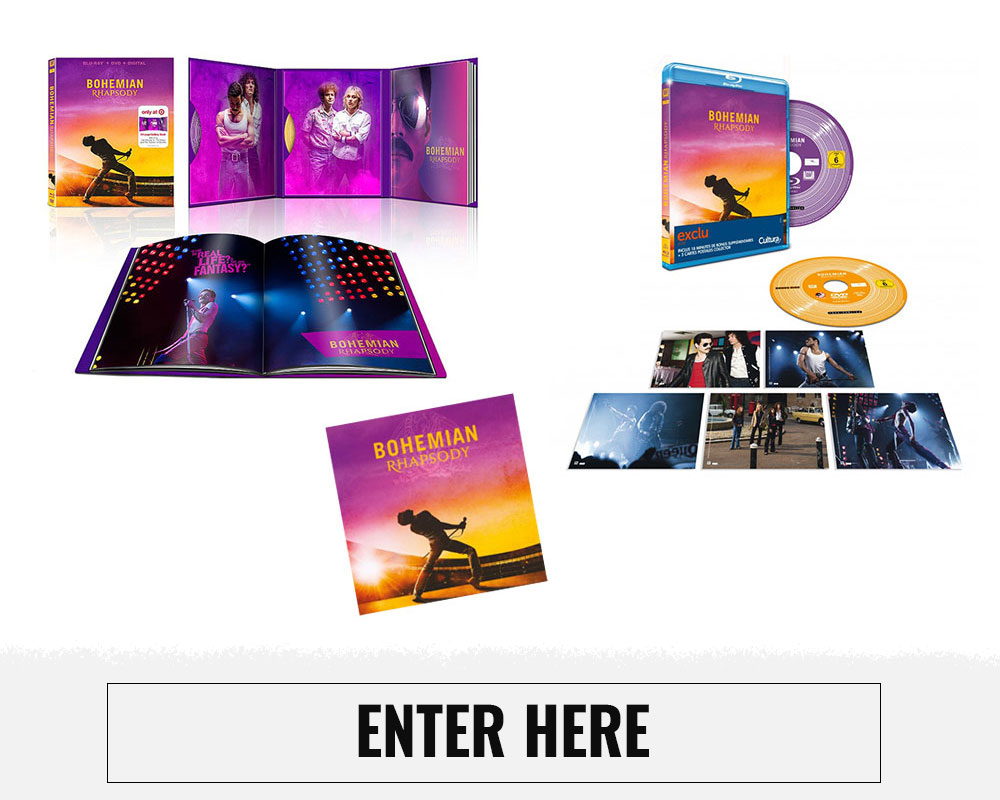 Queen Bohemian Rhapsody Bundle Giveaway