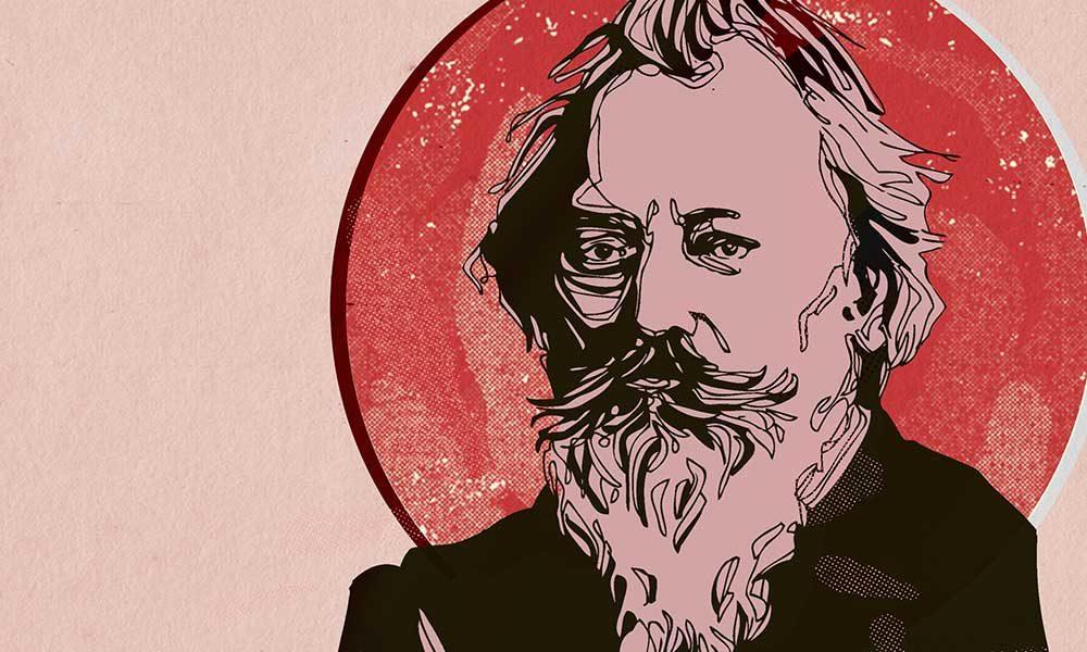 Best Brahms Works - Brahms composer image