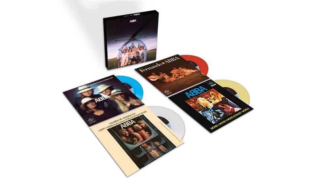 ABBA Arrival Singles Box Set