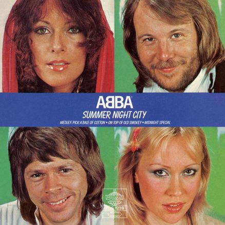 ABBA Summer Night City cover
