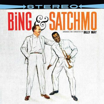 Bing Crosby And Louis Armstrong Bing And Satchmo album cover 820