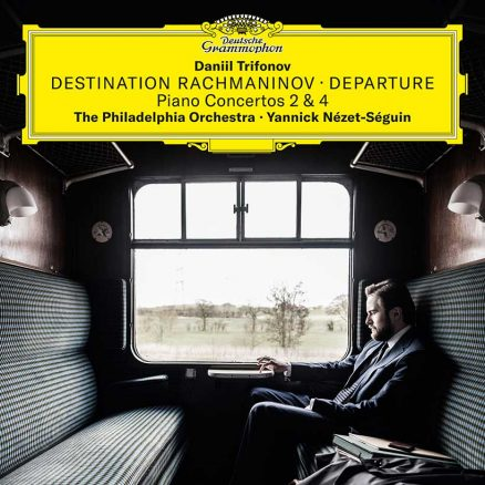 Daniil Trifonov Destination Rachmaninov Departure cover