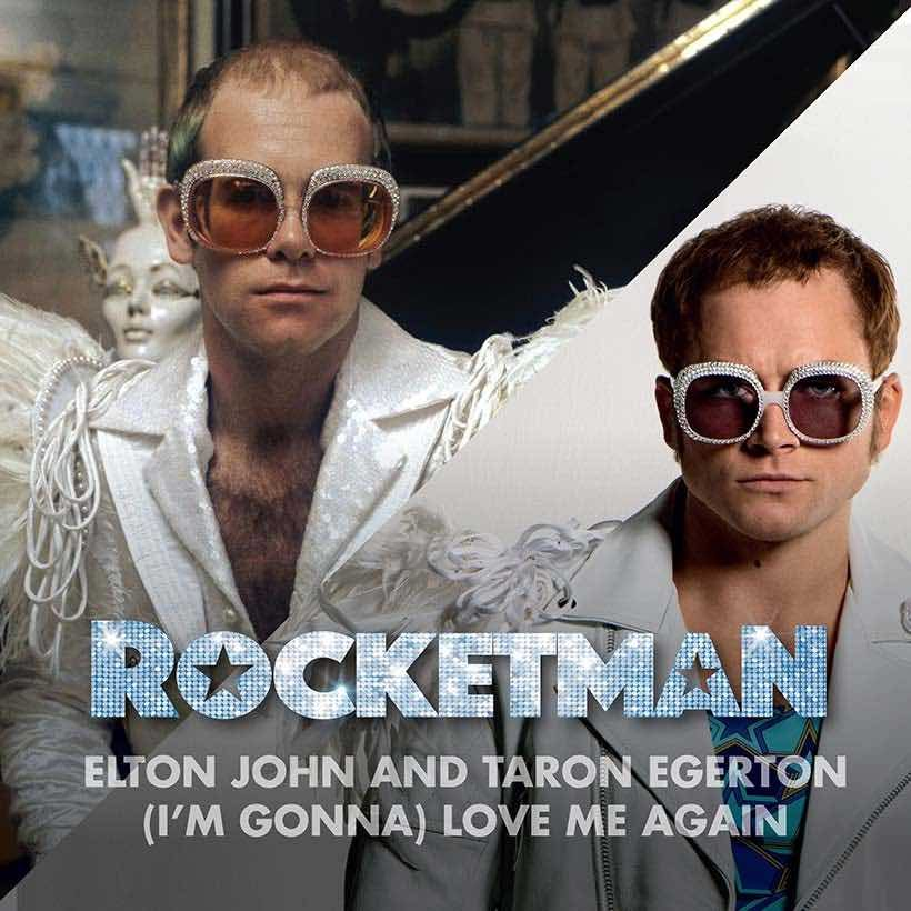 Elton John I'm Gonna Love Me Again single artwork