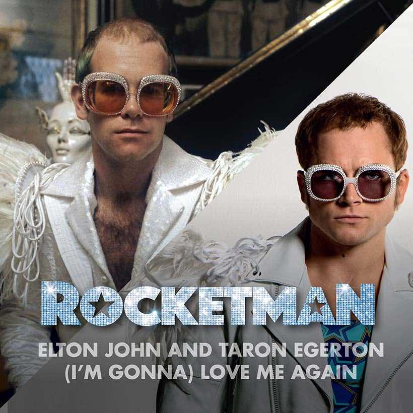 Elton John I'm Gonna Love Me Again single artwork