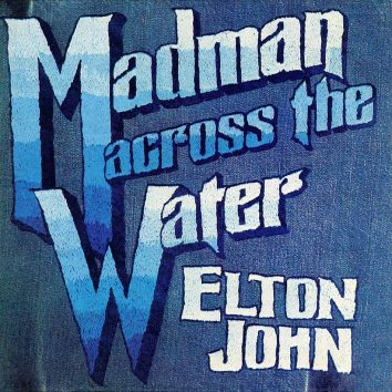 Elton John Madman Across the Water album cover