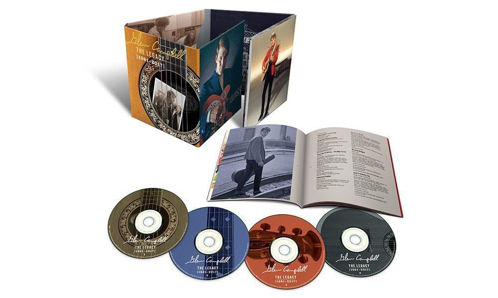 Glen Campbell The Legacy 4CD packshot