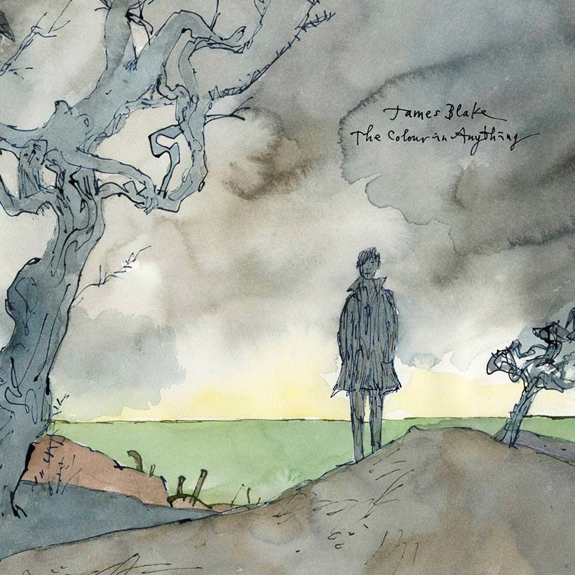 James Blake The Colour In Anything album cover