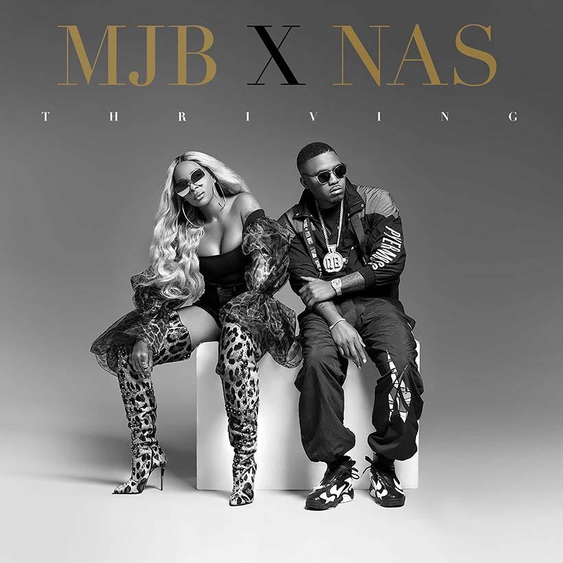 Mary J Blige Nas Thriving single artwork 820