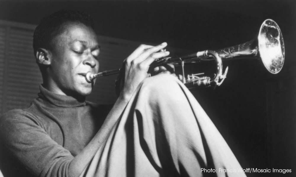 Miles Davis Blue Note era Francis Wolff Mosaic Images 1000