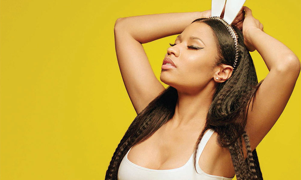 Nicki Minaj The Pinkprint press shot CREDIT Diane Martel 1000