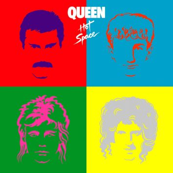 Queen Hot Space album cover 820