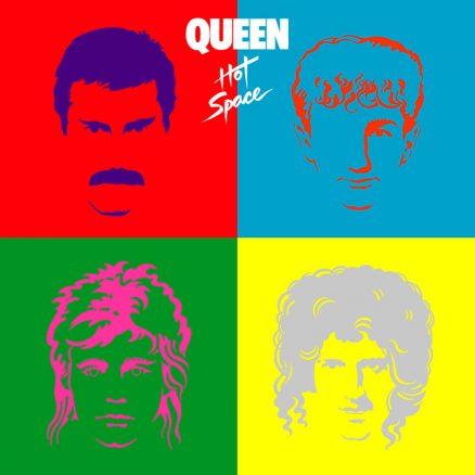 Queen Hot Space album cover 820