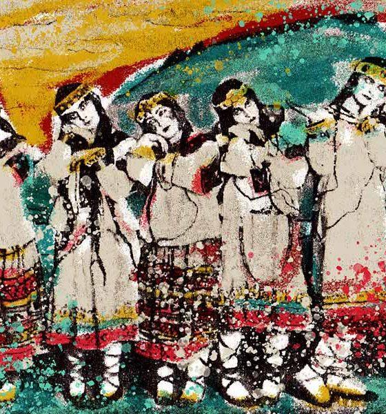 Stravinsky Rite Of Spring Premiere - image of dancers