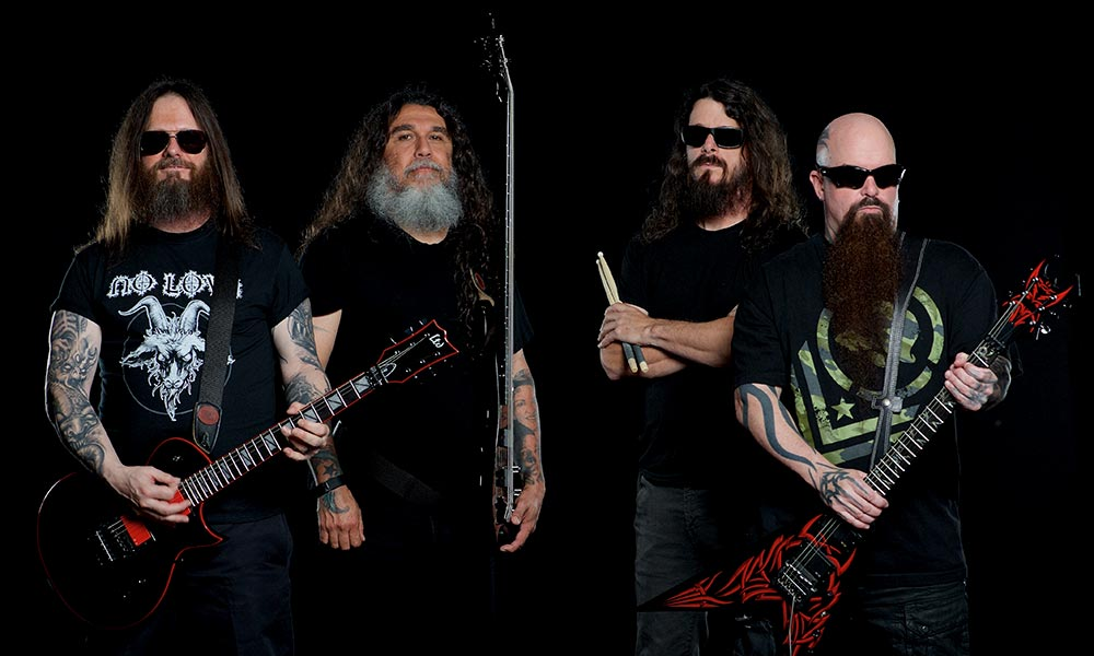 Slayer 2018 press photo CREDIT Andrew Stuart