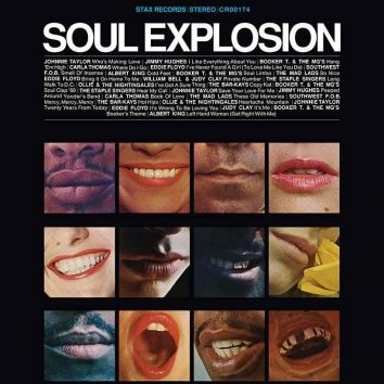 Stax Soul Explosion album cover