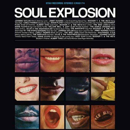 Stax Soul Explosion album cover