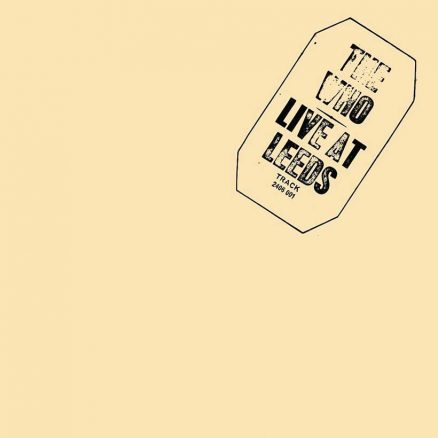 The Who Live At Leeds Album cover 820