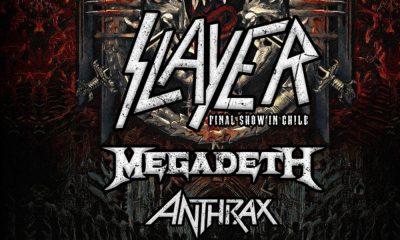 Slaayer Megadeth Anthrax Santiago