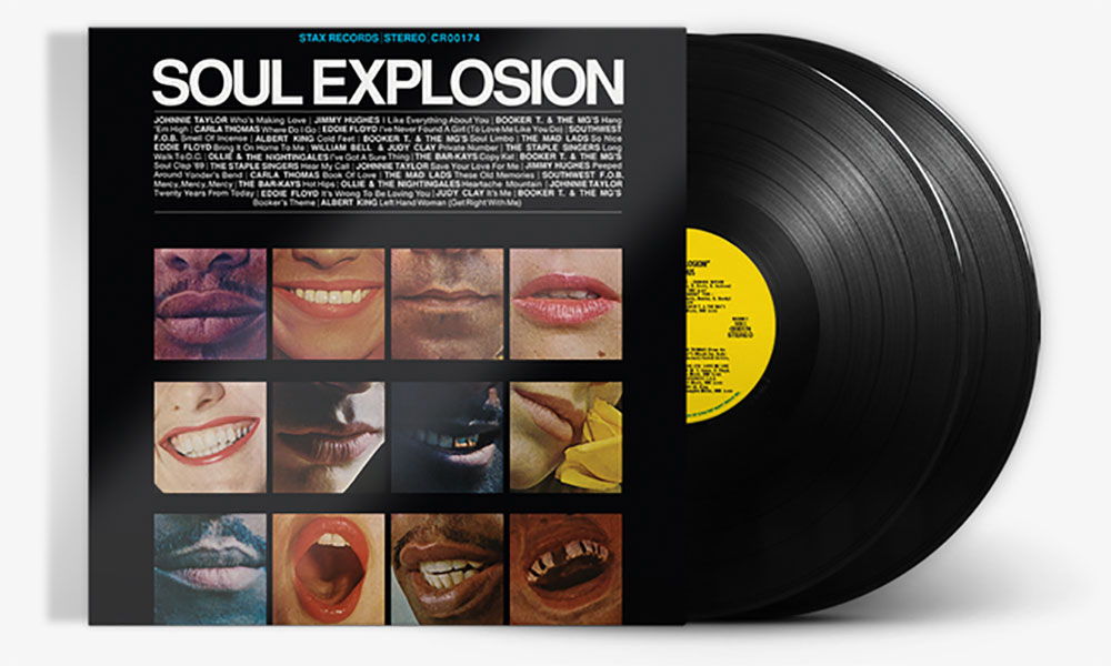 Win Stax's 'Soul Explosion' On Double Vinyl!