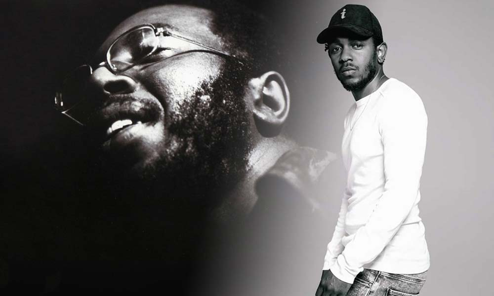 Curtis Mayfield and Kendrick Lamar