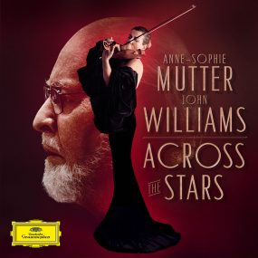 John Williams Anne-Sophie Mutter Across The Stars Album Cover