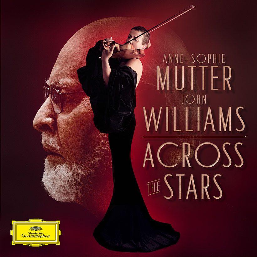 John Williams Anne-Sophie Mutter Across The Stars Album Cover
