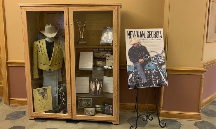 Alan Jackson exhibit Newnan