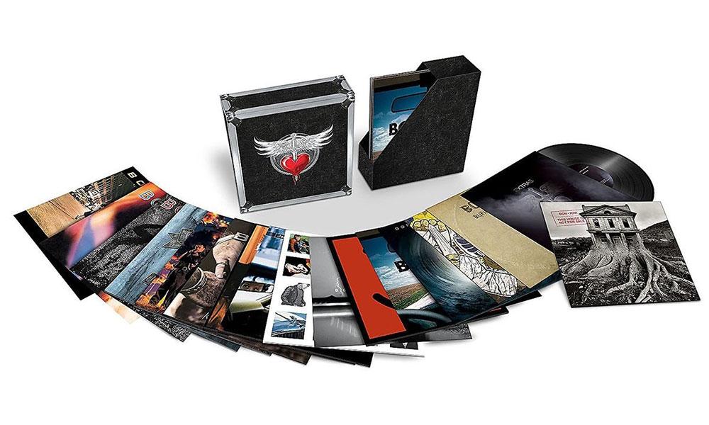 Bon Jovi vinyl box set