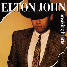 Elton John Breaking Hearts album cover