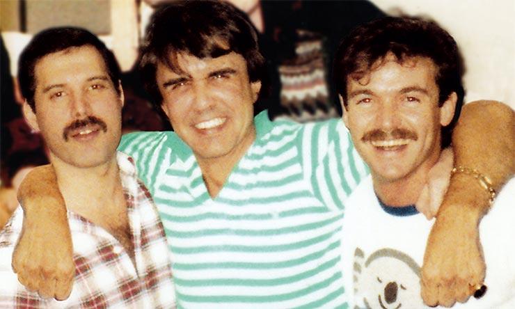 Freddie Mercury, Dave Clark, John Christie