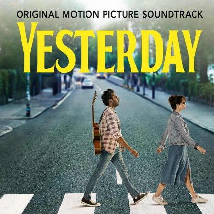 Yesterday film soundtrack cover