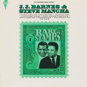 JJ Barnes and Steve Mancha Rare Stamps Vol. 1 album cover