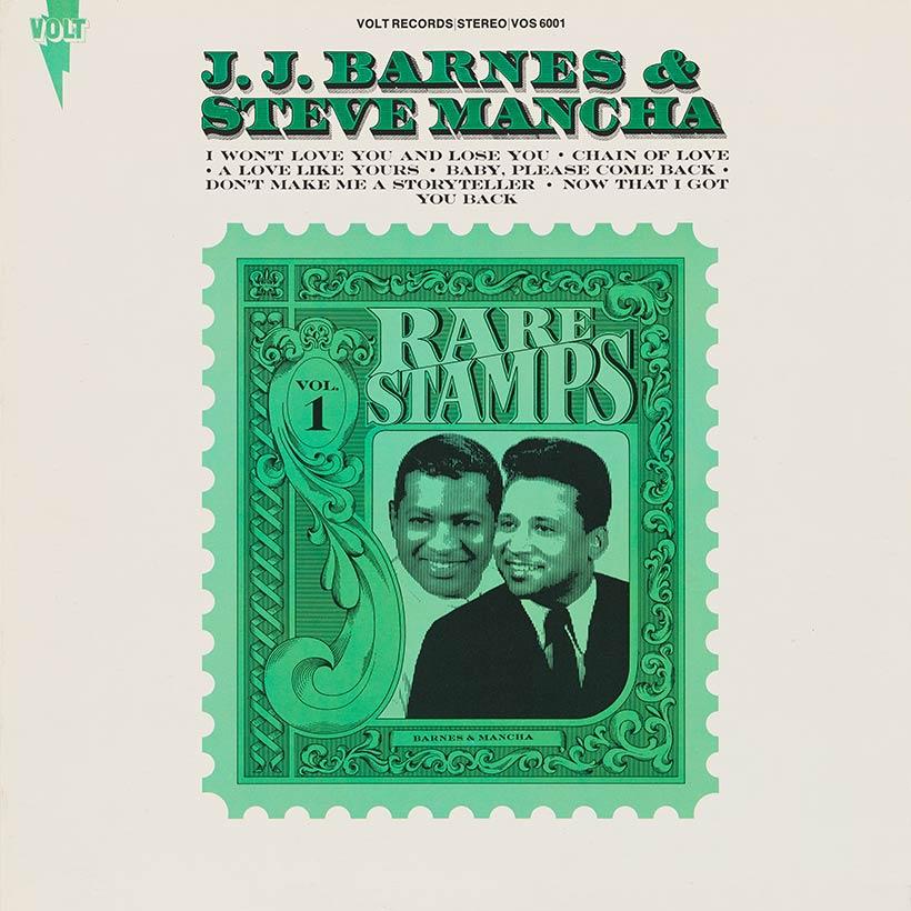 JJ Barnes and Steve Mancha Rare Stamps Vol. 1 album cover