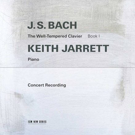 Keith Jarrett JS Bach The Well-Tempered Clavier cover