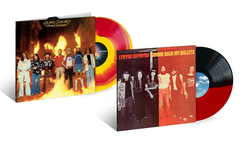 Lynyrd Skynyrd's, 'Gimme Back My Bullets' And 'Street Survivors' Out Now On Coloured Vinyl