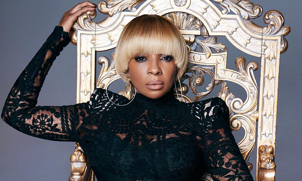 Mary J Blige Press Photo