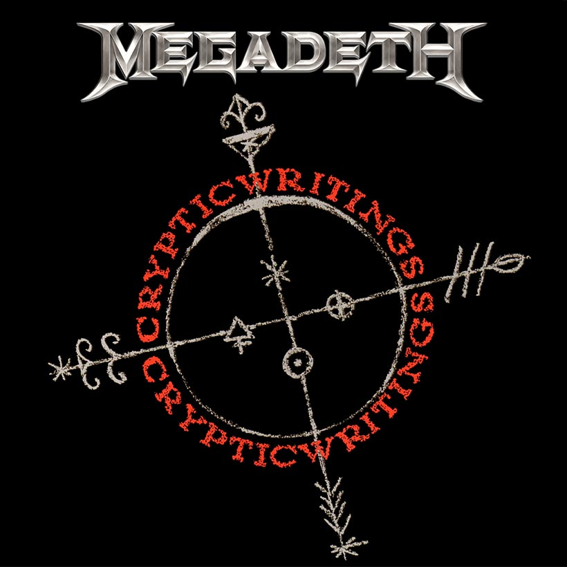 Megadeth Cryptic Writings album cover