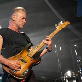 Sting performing live