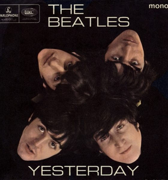 The Beatles Yesterday song EP cover