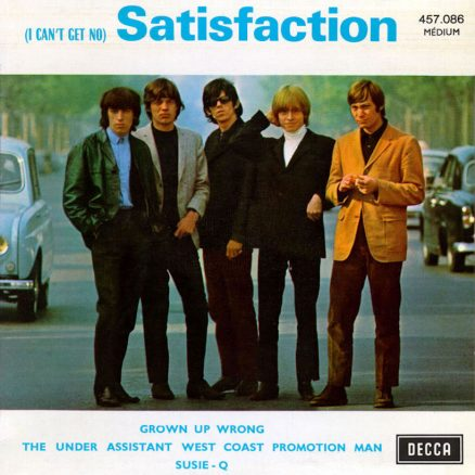 The Rolling Stones I Can't Get No Satisfaction
