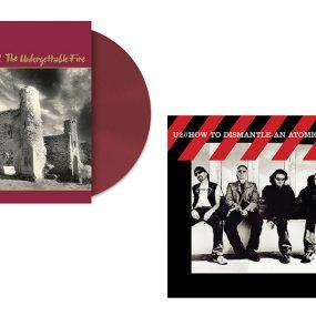 Coloured Vinyl U2 Albums