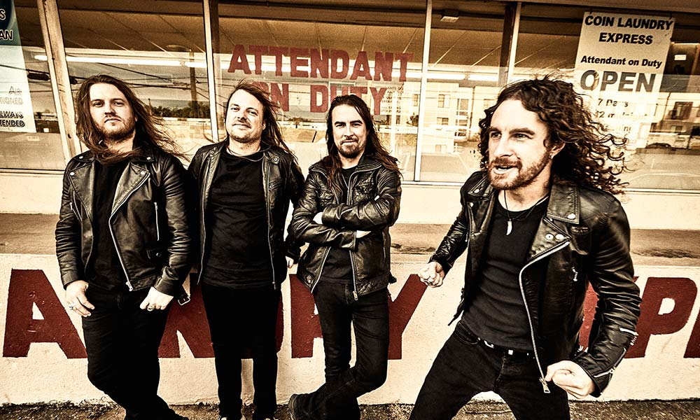 Airbourne 2019 press shot CREDIT Travis Shinn