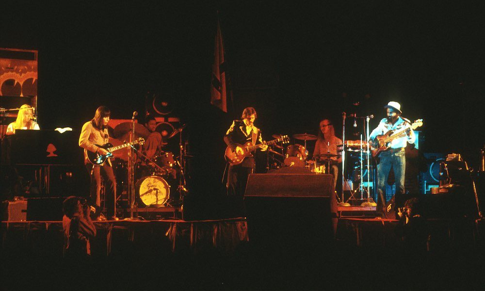 Allman Brothers live 1973 GettyImages 689986834