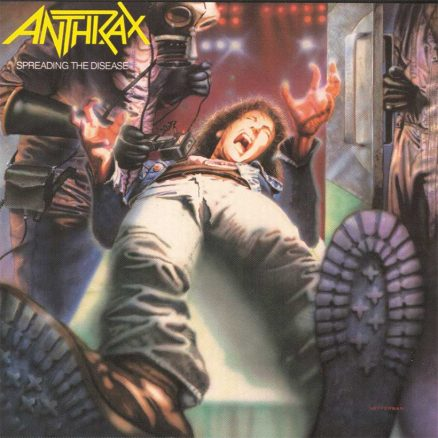 Anthrax Spreading The Disease album cover