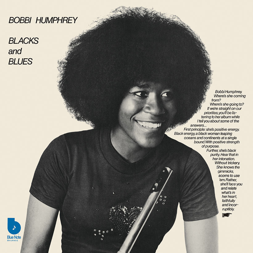 Bobbi Hunphrey Blacks And Blues album cover