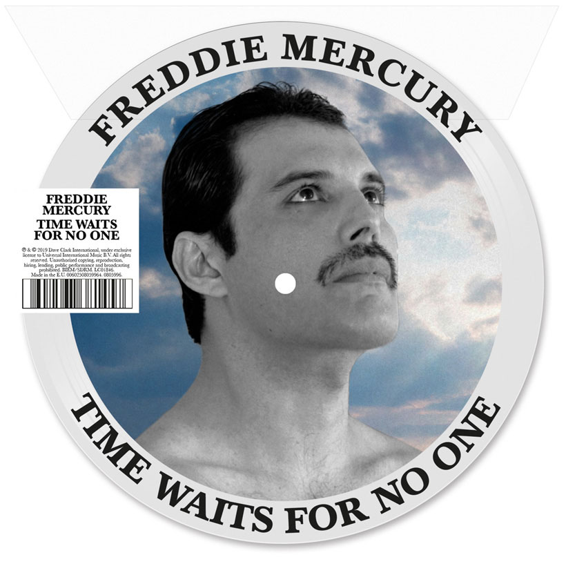 "Freddie Mercury's 'Time Waits For No One' Set For 7"" Picture Disc, CD Single Release"