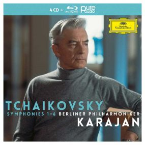 Karajan Tchaikovsky symphonies cover