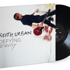 Keith Urban Defying Gravity product shot